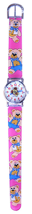 Наручные часы Тик-Так H101-1 Красные мишки