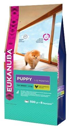 Корм для собак Eukanuba Dog Puppy Toy Breed