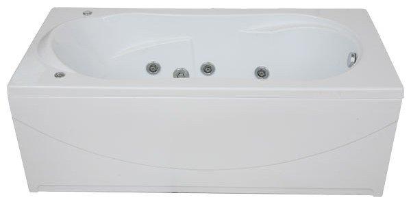 Отдельно стоящая ванна BAS Мальта 170x75 с гидромассажем
