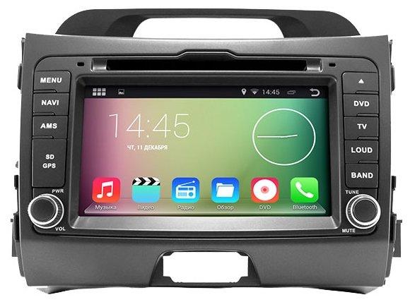 Автомагнитола Smarty Kia SPORTAGE 2010-2014 Android