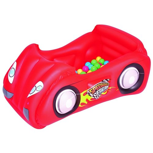 Детский бассейн Bestway Race Car and Game Ball Combo 52159