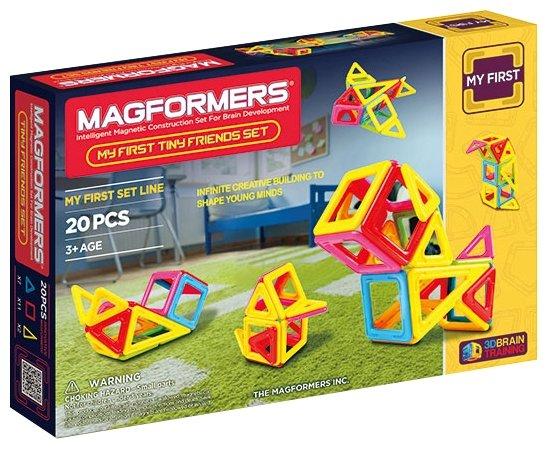 Магнитный конструктор Magformers My First Tiny Friends Set