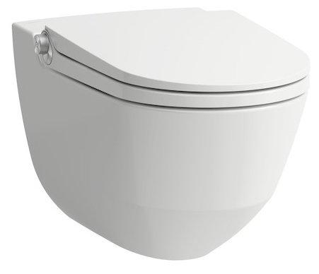 Унитаз с бачком подвесной LAUFEN Cleanet Riva 8.2069.1.400.000.1 с горизонтальным выпуском