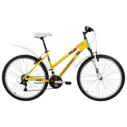 """Горный (MTB) велосипед FORWARD Seido 26 1.0 (2017) желтый 15"""" (требует финальной сборки)"""