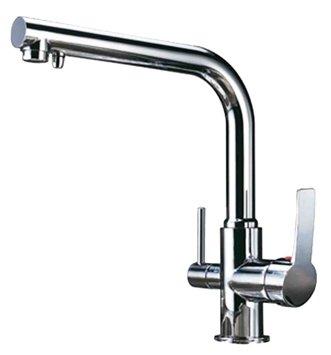 Однорычажный смеситель для кухни (мойки) ZorG ZR 313YF хром