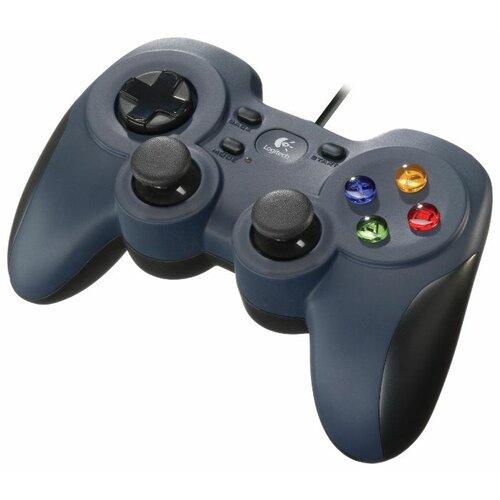 Геймпад Logitech G Gamepad F310 черный/синий геймпад проводной logitech f310 черный [940 000135]