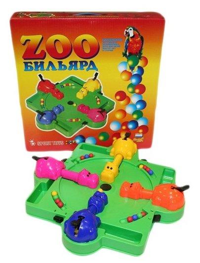 Настольная игра ОмЗЭТ Зообильярд ОМ-48003