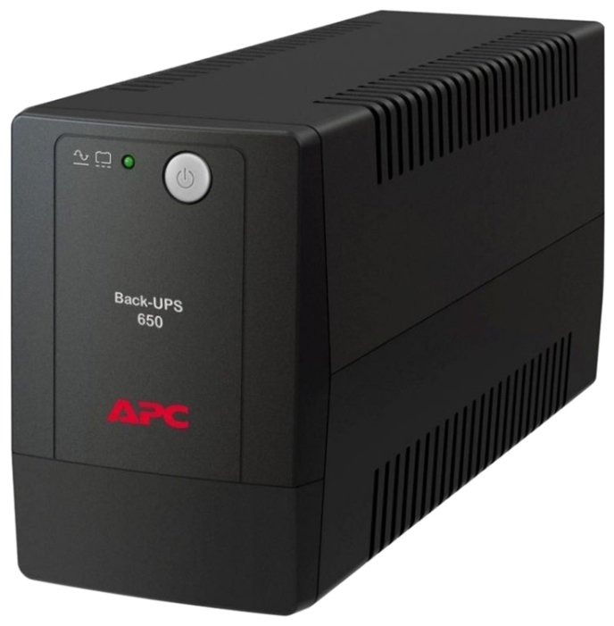 APC by Schneider Electric Back-UPS 650/360VA IEC