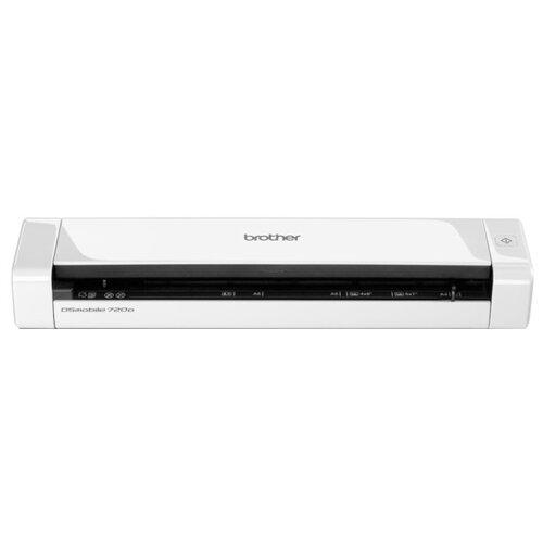 Сканер Brother DS-720D белый