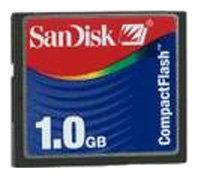 Карта памяти SanDisk 1GB CompactFlash Card