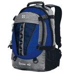 Рюкзак NOVA TOUR Слалом 40 серый/синий (серый/электрик блю)