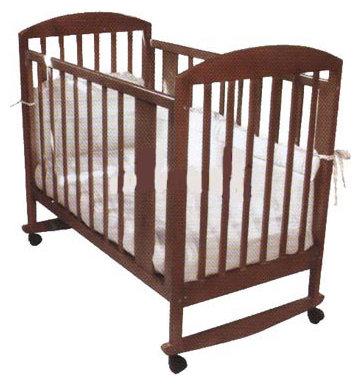 Кроватка Ижмебель Гном-1 (качалка), на полозьях