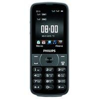 Телефон Philips E560 черный