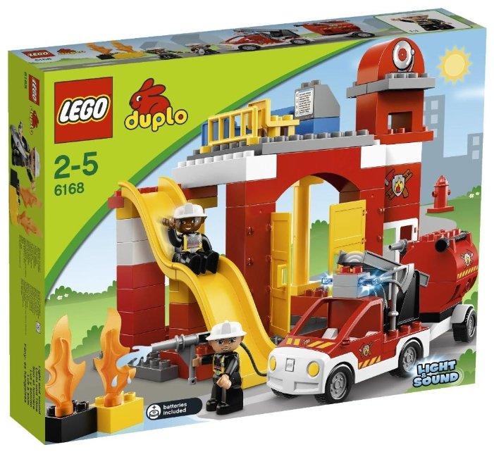 Конструктор LEGO Duplo 6168 Пожарная станция