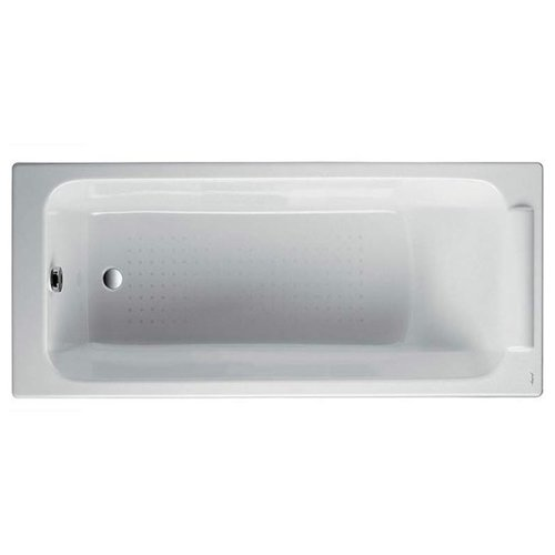 Ванна Jacob Delafon Parallel 150x70 без отверстий для ручек Е2946 чугун левосторонняя/правосторонняя ванна из искусственного камня jacob delafon elite 170x75 с щелевидным переливом e6d031 00 без гидромассажа