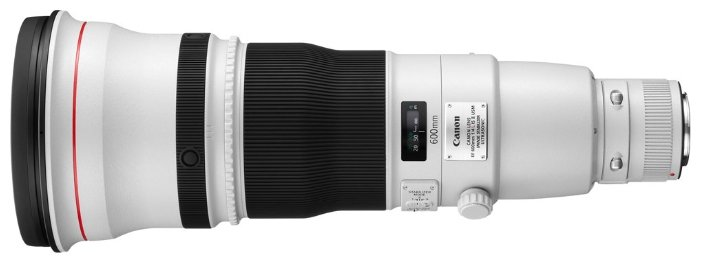 Сравнение с Canon EF 600mm f/4L IS USM