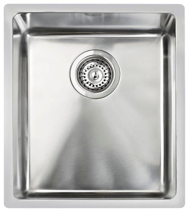 Врезная кухонная мойка TEKA BE Linea R15 34.40 38х44см нержавеющая сталь