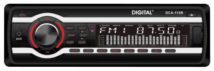 Автомагнитола DIGITAL DCA-115