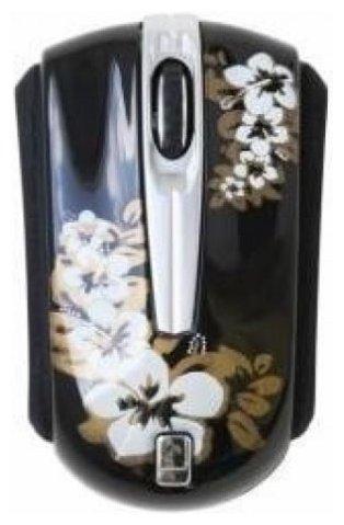 Мышь ETG EMV55-RB-S flowers Black USB