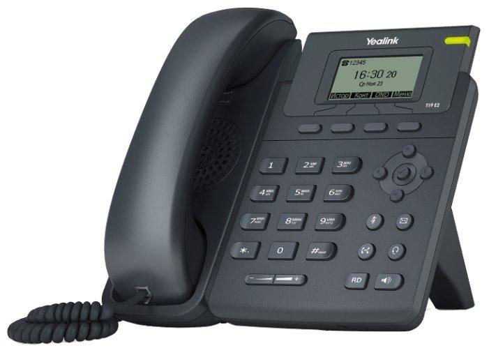 VoIP-телефон Yealink SIP-T19 E2 (SIP-T19E2)