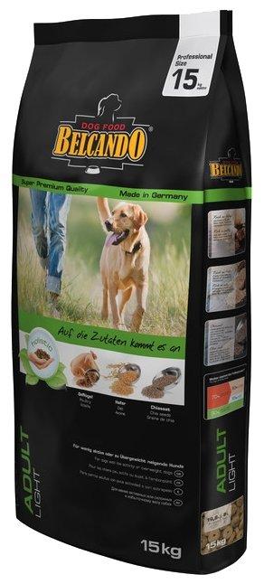 Belcando Adult Light для собак с низким уровнем активности или склонных к избыточному весу (15 кг)