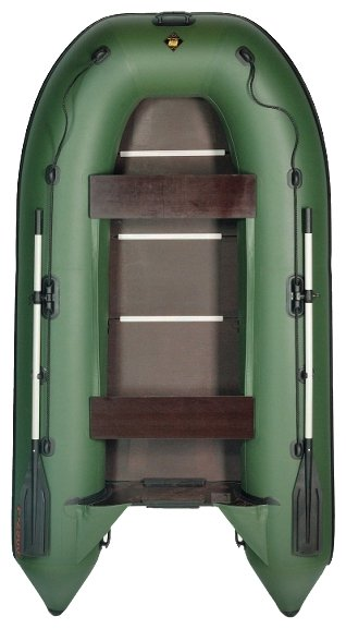 Надувная лодка Marine Pro с веслами и насосом 291х127х46 см - Ж65044