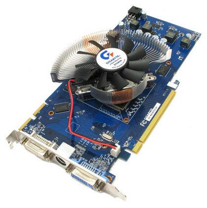 GIGABYTE Radeon HD 3870 825Mhz PCI-E 2.0 512Mb 1500Mhz 256 bit 2xDVI TV HDCP YPrPb