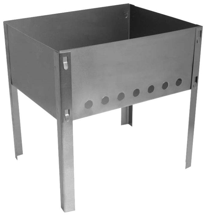 Мангал Hot Pot 300х240х300мм разборный без шампуров в коробке