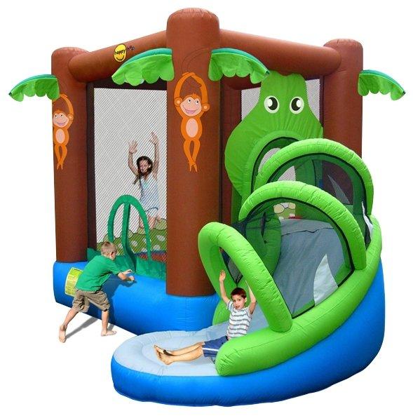 Надувной комплекс Happy Hop Веселые джунгли 9113