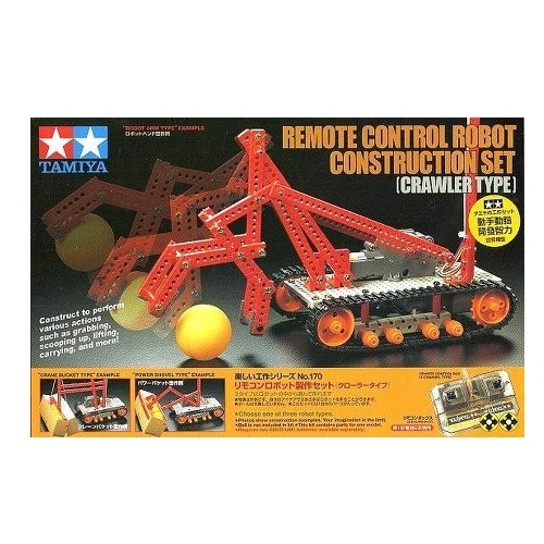 Электромеханический конструктор Tamiya Educational Construction 70170 ДУ Робот на стройке