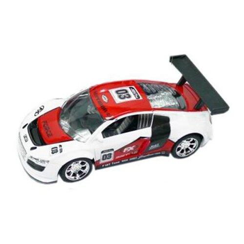 Купить Гоночная машина Пламенный мотор 87642 белый/красный, Машинки и техника
