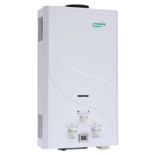 Проточный газовый водонагреватель Oasis 12 кВт белый проточный электрический водонагреватель oasis np w белый