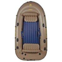 Intex, 68324, Надувная лодка Excursion 4 Set (до 400кг) 315х165х43см + весла/насос