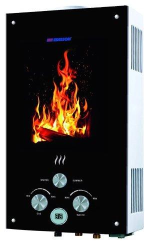 Проточный газовый водонагреватель Edisson Flame F