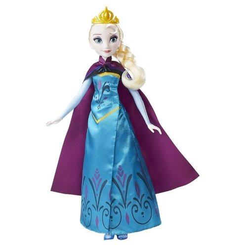 Купить Кукла Hasbro Холодное сердце Эльза в трансформирующемся наряде, 28 см, B9203, Куклы и пупсы