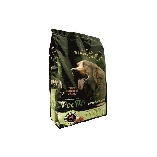 Корм для собак РосПёс (1 кг) Сухой корм для собак всех пород - Курица с ягнёнком