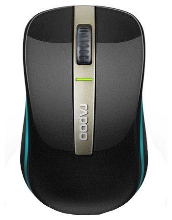 Мышь Rapoo Dual-mode Optical Mouse 6610 Black Bluetooth