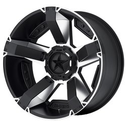 Колесные диски XD Series XD811 Rockstar II 9x17/8x165.1 D130 ET-12 Black Painted