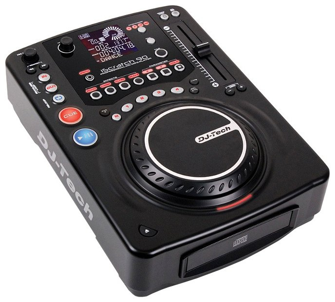 DJ-Tech Professional iScratch 90