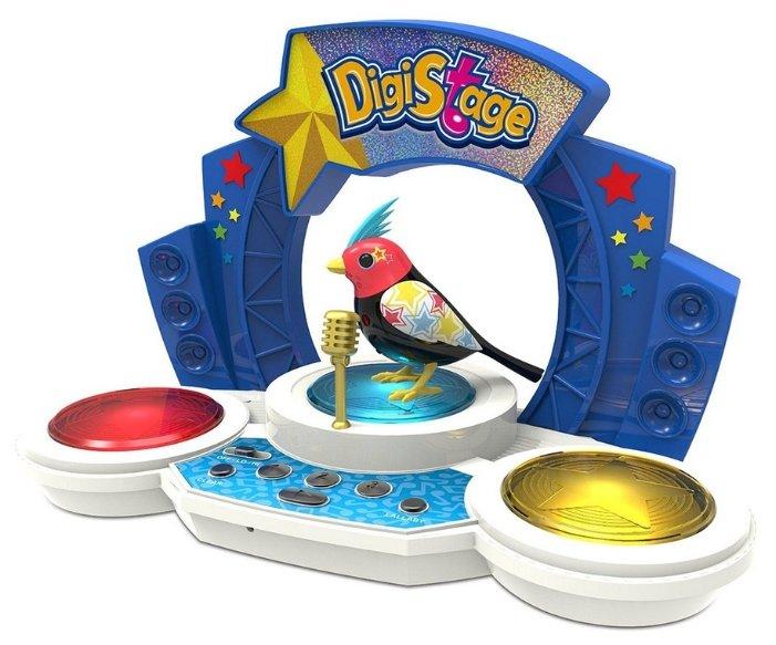 Интерактивная игрушка робот Silverlit DigiBirds со сценой