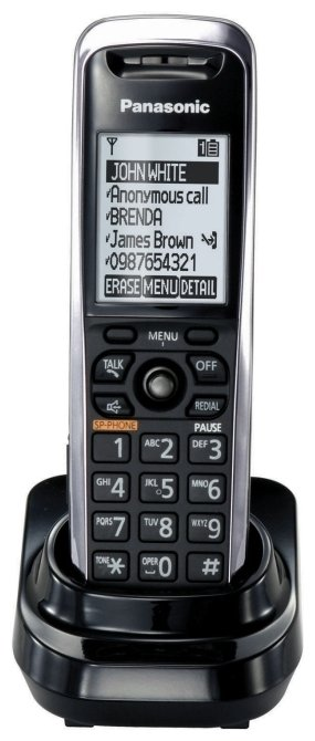 Panasonic Дополнительная трубка для VoIP-телефона Panasonic KX-TPA50