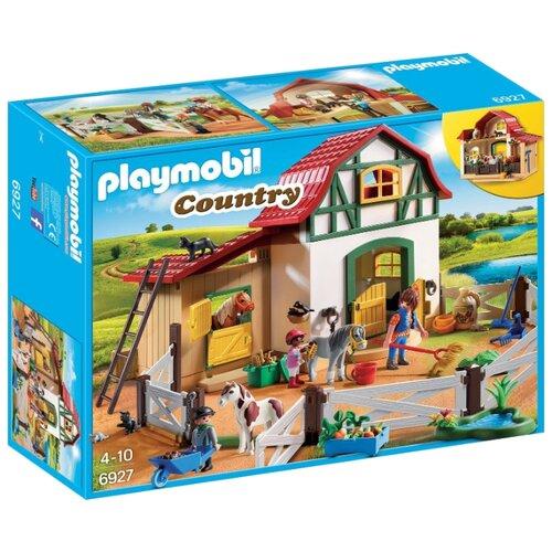 Конструктор Playmobil Country 6927 Конюшня пони