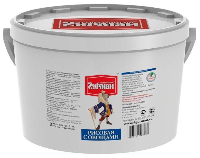 Корм для собак Четвероногий Гурман Рисовая каша моментального приготовления 1 кг