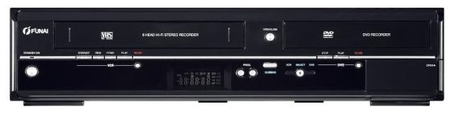 DVD/VHS-плеер Funai WD6D-D4413DB