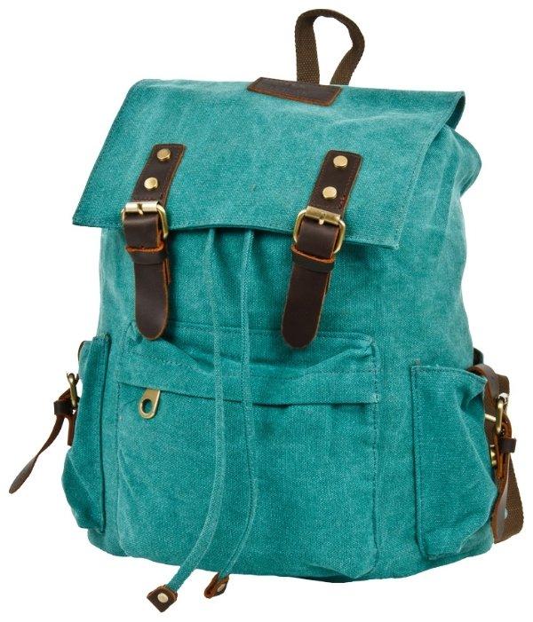 Рюкзак Polar П3062-09 брезент Зеленый 17,2 л