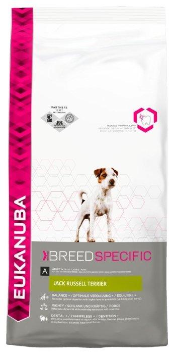Корм для собак Eukanuba Breed Specific Джэк рассел терьер курица 1 кг