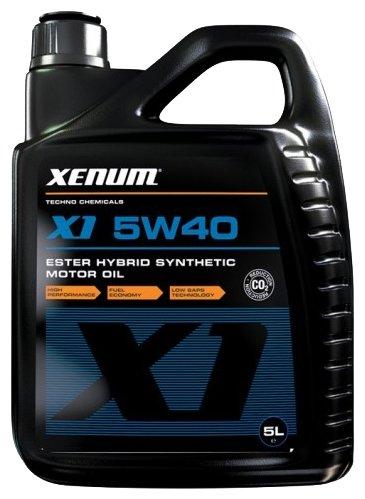 Моторное масло XENUM X1 5W40 5 л