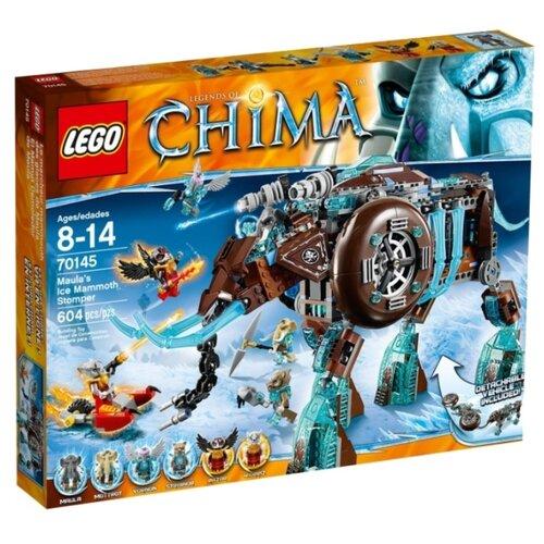 Конструктор LEGO Legends of Chima 70145 Ледяной мамонт-штурмовик Маулы
