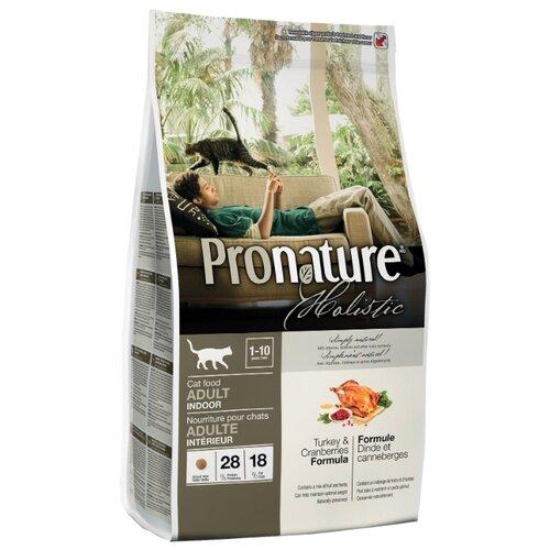 Корм для кошек ProNature Holistic с индейкой и с клюквой 340 г