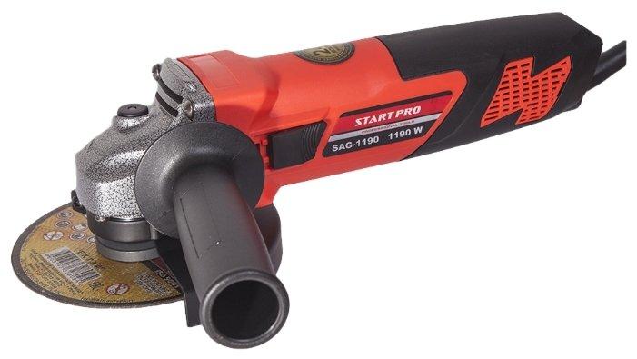 УШМ START PRO SAG-1190, 1190 Вт, 125 мм